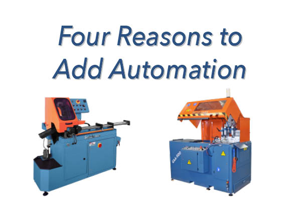 Four Reasons to Add Automation