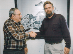 Jerry at 25years with Scotchman