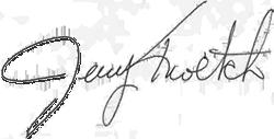 Jerry kroetch Signature