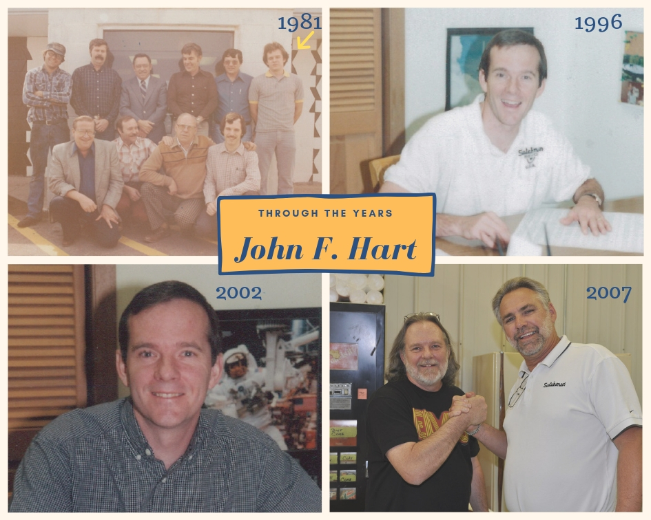 John Hart through the years