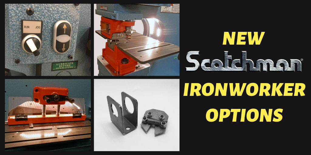 NEW Scotchman Ironworker Options(3)