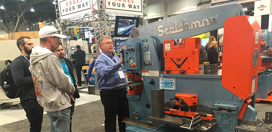 FABTECH 2017 - What machines are Scotchman bringing?