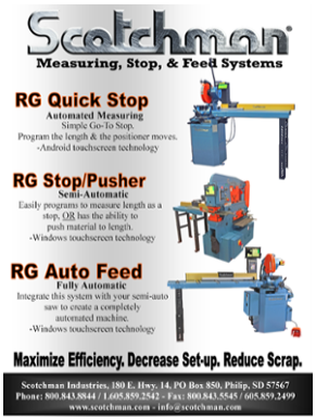 Scotchman Measuring, Stop, and Feed Flyer