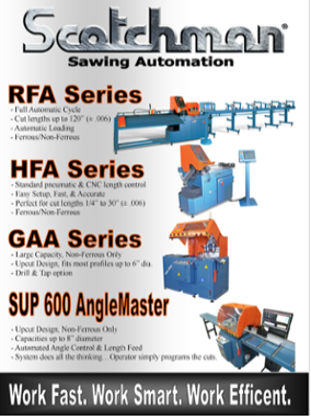 Scotchman Sawing Automation Flyer