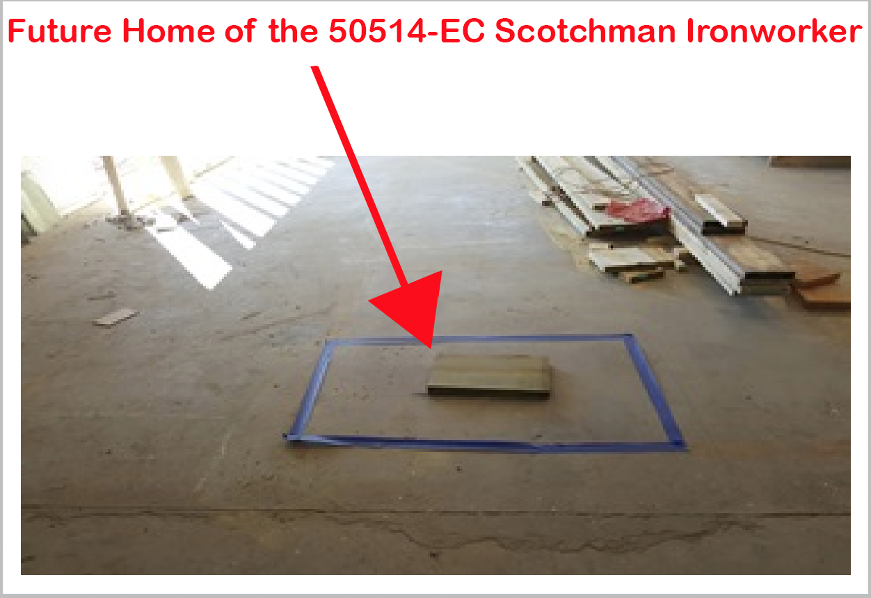Future Home of the 50514-EC Scotchman Ironworker