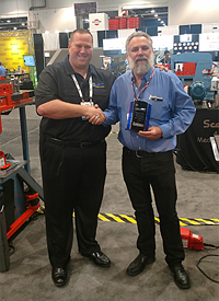 Top Quality Award from Sterling Machinery at FABTECH 16