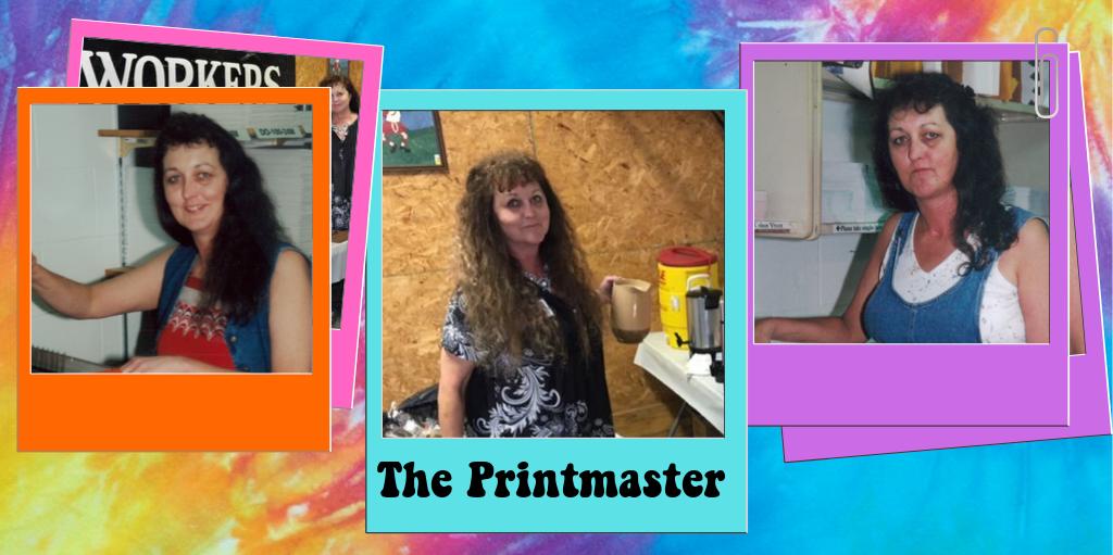 Jeanie the Printmaster Retires