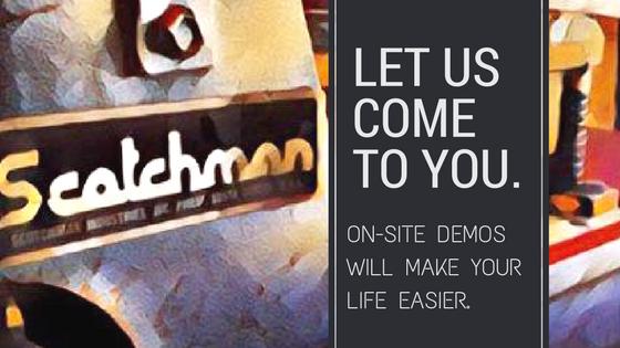 on site demos